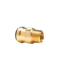 John Guest Straight Brass Adaptor